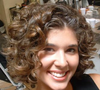 Виды химической завивки на коротких волосах
