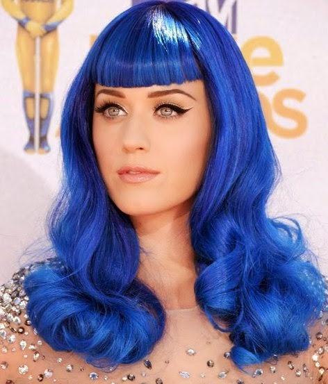 Синяя краска