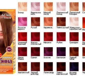 Экономичная и качественная краска для волос Рябина