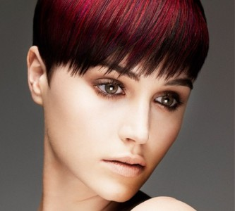 Создаем образ колорированием коротких волос