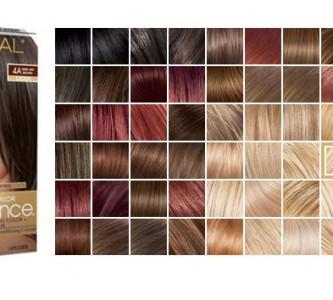 Знакомство с палитрой красок для волос Лореаль