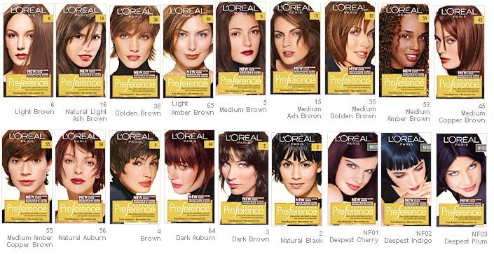 L'Oreal Preference Brown