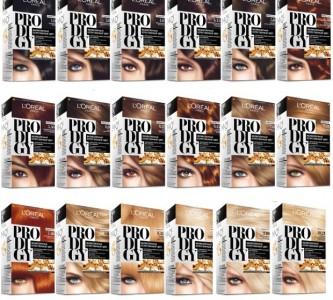 Многообразие палитры краски для волос Лореаль Продиджи