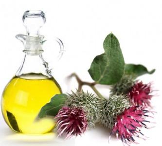 Использование репейного масла для роста волос