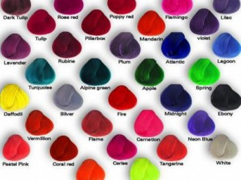 Создаем яркий образ с цветными красками для волос