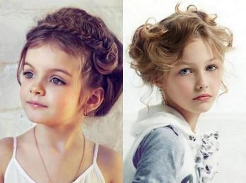 Стили детских причесок на короткие волосы