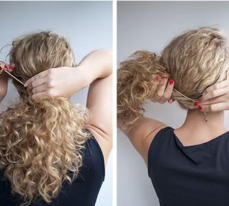 Советы по укладке причесок с кудрями на средние волосы
