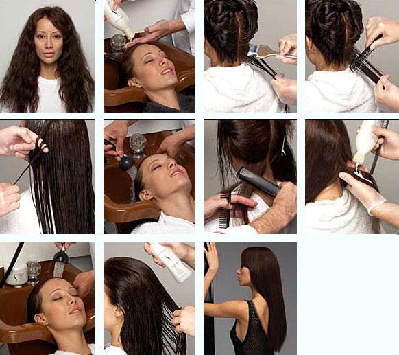 Антизавивка волос