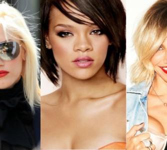 Тенденции в стильных прическах на средние волосы