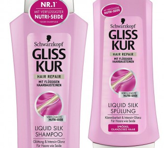 Ухоженные и блестящие волосы с шампунем Глис Кур