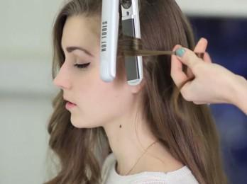 Способы накручивания волос на утюжок