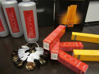 Модные оттенки палитры краски Igora Royal
