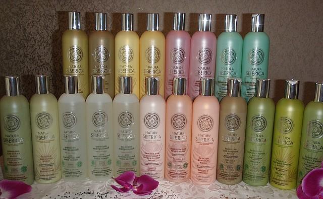 Разнообразие шампуней