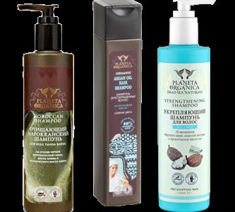 Натуральные ингредиенты шампуня Планета Органика (Planeta Organica)