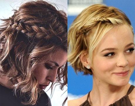 Плетения для коротких волос