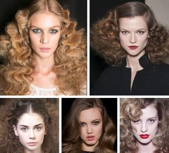 Интересные варианты причесок с накрученными волосами