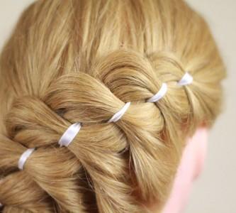 Простор для фантазии в прическах с косами на длинные волосы