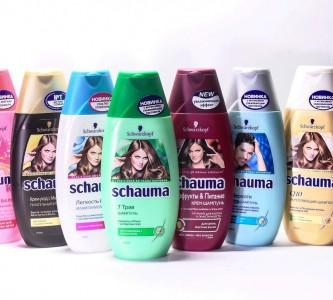 Коллекция шампуней Шаума