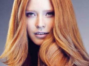 Оттенки светло-рыжего цвета волос