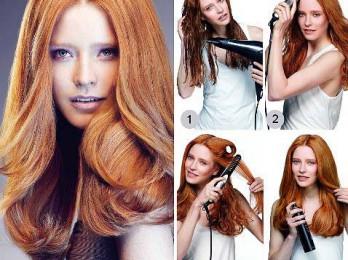 Учимся укладывать волосы феном правильно