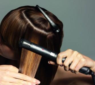 Технология использования утюжка для волос