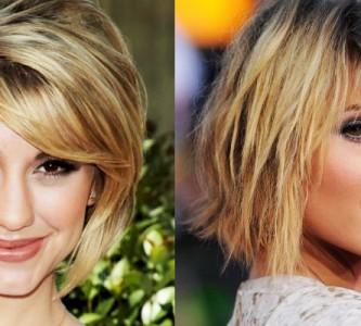 Как делают градуированные стрижки на средние волосы?