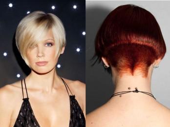 Удобная стрижка для густых волос