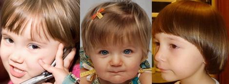 Стрижки для маленьких девочек