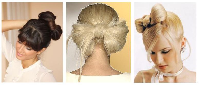 Банты из волос