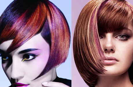 esli-vyi-poklonnitsa-yarkih-tonov-ne-sderzhivayte-svoey-fantazii Прически на средние волосы: 100 фото самых стильных укладок
