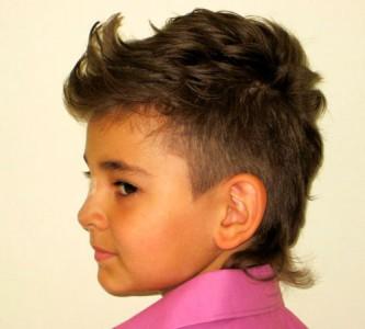 Лучшие варианты модельных стрижек для мальчика