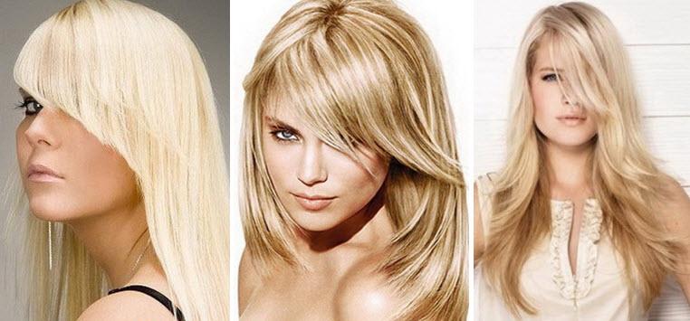 Челки для длинных волос
