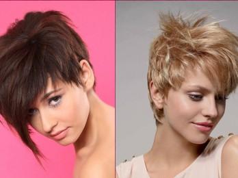 Варианты асимметричных стрижек для коротких волос