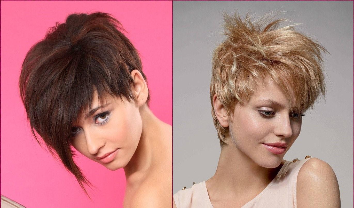 Ассиметричные стрижки на короткие волосы: фото, вид сзади