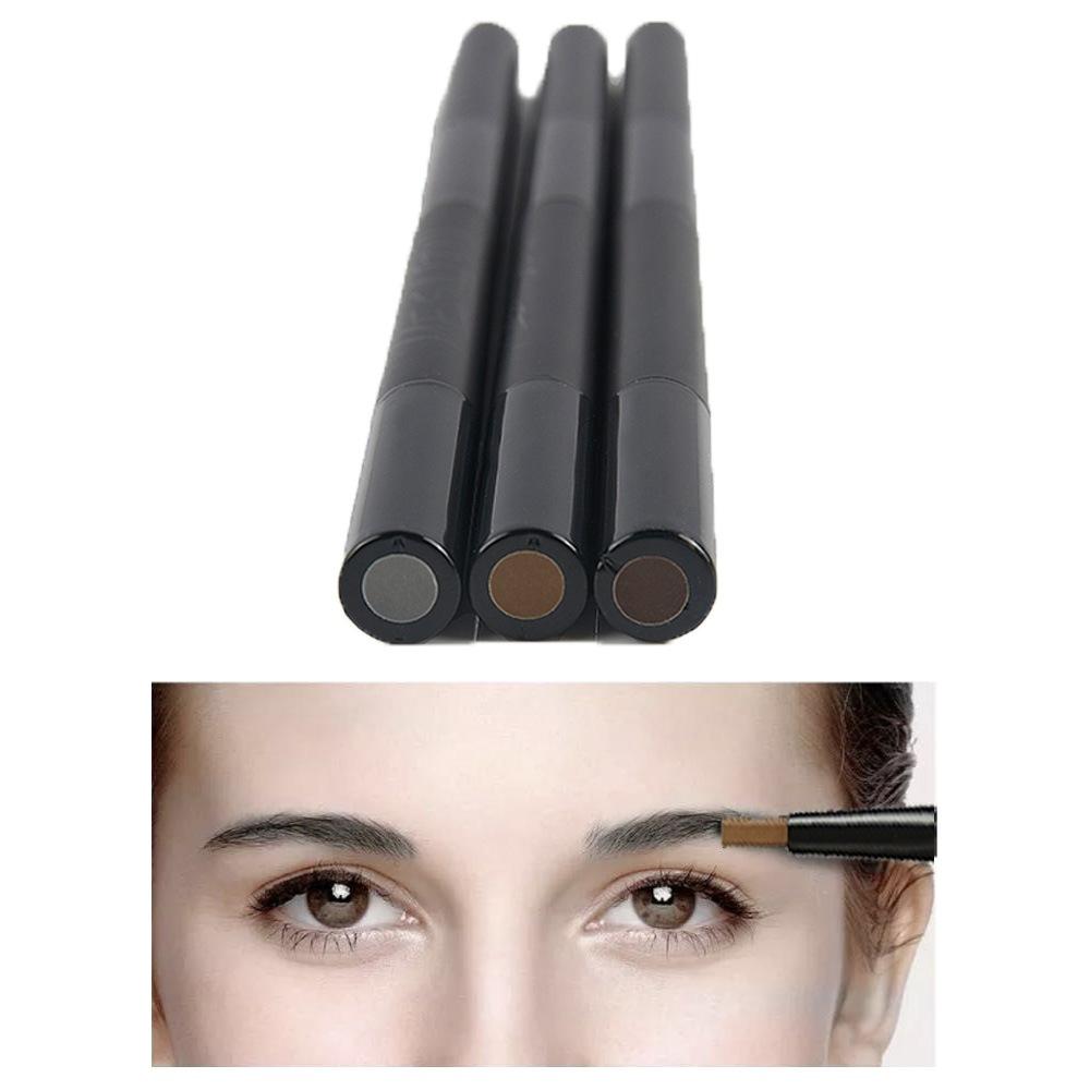 как правильно красить брови карандашом фото